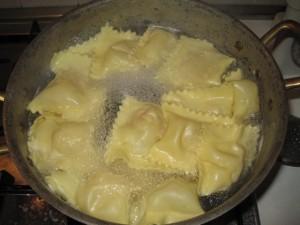 Cottura tortelli