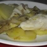 baccala carciofi e patate