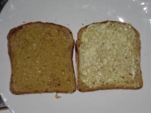 pane tostato con senape e maionese