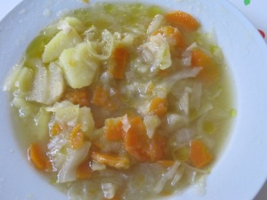 minestra di cavolo