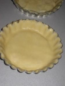 Tartelletta di pasta brisé