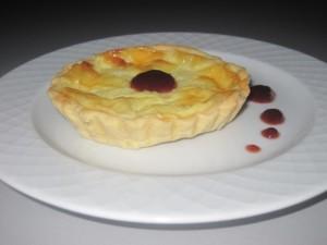 Tartelletta alla robiola con confettura di fragole Pure Stagioni