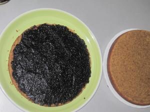 Torta rustica con confettura di mirtilli Pure Stagioni